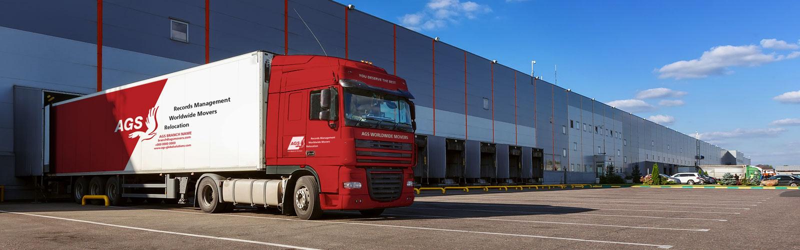 truck-infront-warehouse